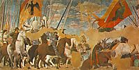 Battle Between Constantine And Maxentius, 1464, francesca