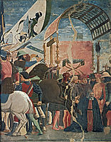 Battle between Heraclius and Chosroes (detail), francesca
