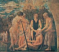 Death of Adam (detail), francesca