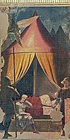 The Dream of Constantine, 1464, francesca