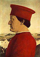 Federigo da Montefeltro, 1465, francesca