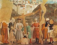 Finding of the True Cross, 1464, francesca