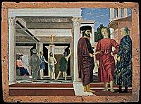 The Flagellation of Christ, 1450, francesca