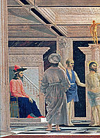 The Flagellation of Christ (detail), c.1465, francesca