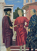 The Flagellation of Christ (detail), c.1464, francesca