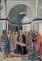 Madonna and Child with Saints , 1472, francesca