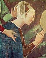 Procession of the Queen of Sheba (detail), francesca