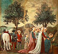 Procession of the Queen of Sheba , francesca