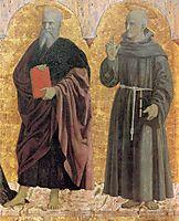St. Andrew and St. Bernardino, francesca
