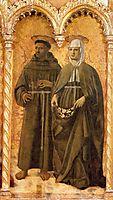 St. Francis and St. Elizabeth, c.1460, francesca