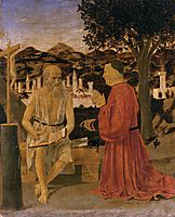 St. Jerome and a Donor, 1451, francesca