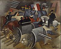 Artillery, 1911, fresnaye