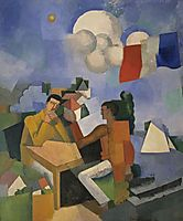 The Conquest of the Air, 1913, fresnaye