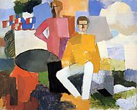 The Fourteenth of July, 1914, fresnaye