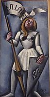 Joan of Arc , fresnaye