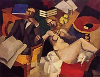 Married Life, 1913, fresnaye