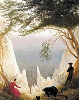Chalk Cliffs on Rügen, c.1817, friedrich