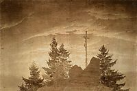 Cross in the Mountains, 1805-1806, friedrich