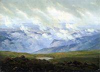 Drifting Clouds, 1820, friedrich