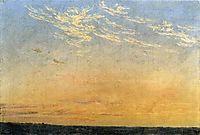 Evening, 1824, friedrich