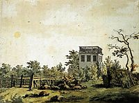 Landscape with Pavilion, 1797, friedrich