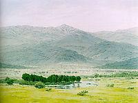 Landscape in the Riesengebirge, friedrich