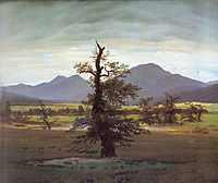 Landscape with Solitary Tree, 1822, friedrich