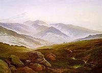 Riesengebirge, 1835, friedrich