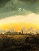 Neubrandenburg, c.1817, friedrich