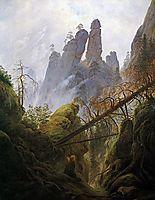 Rocky Ravine, 1822-1823, friedrich