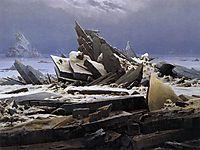 The Sea of Ice, 1824, friedrich