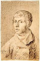 Self-portrait as a young man, 1800, friedrich
