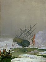 Ship in the Arctic Ocean, friedrich