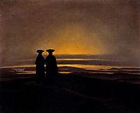 Sunset, Brothers, 1830-1835, friedrich