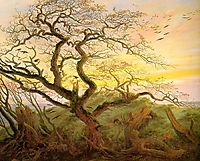 The Tree of Crows, 1822, friedrich