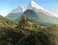 The Watzmann, 1825, friedrich