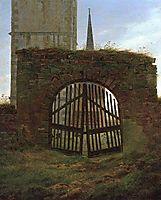 Churchyard Gate, friedrich