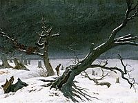 Winter Landscape, 1811, friedrich