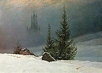 Winter landscape, c.1811, friedrich