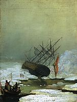 Wreck in the Sea of Ice, 1798, friedrich