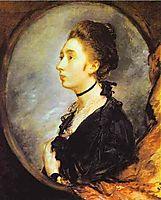 The Artist-s Daughter Margaret, 1772, gainsborough