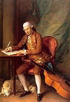 Carl Friedrich Abel, 1777, gainsborough