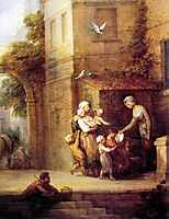 Charity relieving Distress, gainsborough
