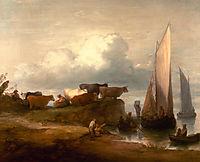 A Coastal Landscape, 1782, gainsborough