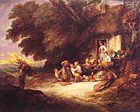 The Cottage Door, c.1778, gainsborough