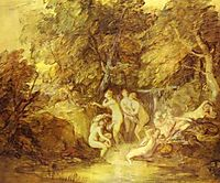 Diana and Actaeon, c.1785, gainsborough