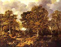 Forest (Cornard Wood), c.1747, gainsborough