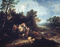 The Harvest Wagon, c.1784, gainsborough