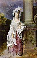 The Hon. Mrs. Graham, 1777, gainsborough