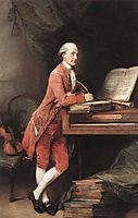 Johann Christian Fischer, c.1780, gainsborough